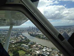 Brisbane Skyline - Fly Now Redcliffe