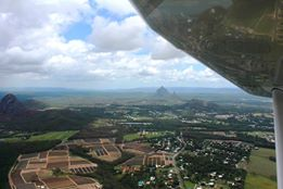 Glass House Mountains - Fly Now Redcliffe
