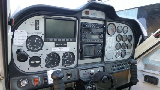 Tecnam 7600 Instrument Panel - Fly Now Redcliffe