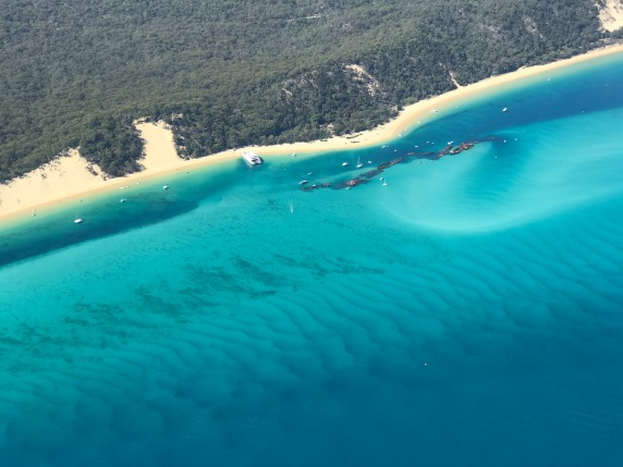 Tangalooma Wrecks - Fly Now Redcliffe