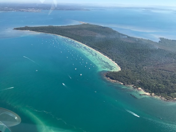 Peel Island Moreton Bay - Fly Now Redcliffe